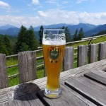 a well deserved summit beer...