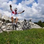 Jura stone wall