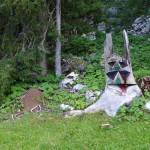 Swiss totem