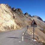 descent to Col du Lautaret